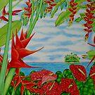 Tropical Red by joeyartist