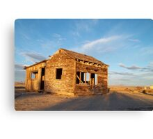 Abandoned - California Desert Canvas Print