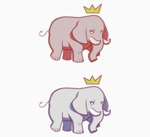 Pink-Blue Elephants by citizentang
