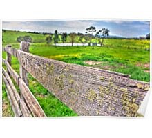 Fenced Off (HDR) Poster