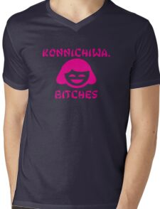 Konnichiwa, Bitches Mens V-Neck T-Shirt
