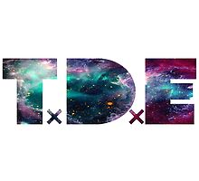 TDE TOP DAWG TRIPPY PURPLE TEAL GREEN BLUE NEBULA  by SourKid