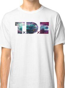 TDE TOP DAWG TRIPPY PURPLE TEAL GREEN BLUE NEBULA  Classic T-Shirt