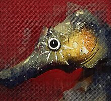 Portrait of a Seahorse by Alfredo Encallado