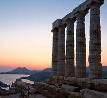 Temple of Poseidon, Cape Sounion, Greece by Revenant