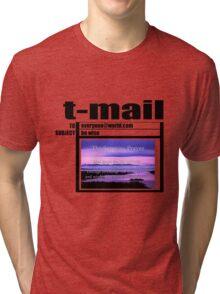 t-mail serenity prayer Tri-blend T-Shirt