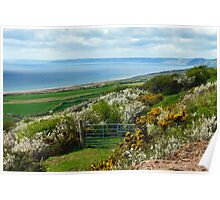 Chesil Beach Overlook ~ Dorset Poster