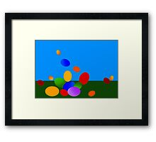 Happy Easter! Framed Print