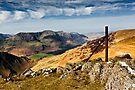 The High Stile Range, Buttermere. Cumbria. UK by David Lewins