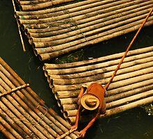 The Boatman, Yangshuo, China by strangelight