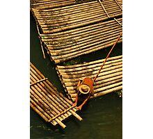 The Boatman, Yangshuo, China Photographic Print