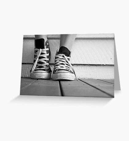 Kicks Greeting Card