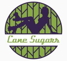 Cane Sugars Sticker by Reef City Roller Girls