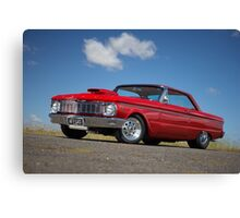 Red Ford Falcon XP Coupe Canvas Print