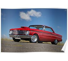 Red Ford Falcon XP Coupe Poster