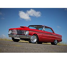 Red Ford Falcon XP Coupe Photographic Print