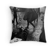 Roman Carneval Throw Pillow