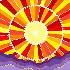 Vibrant sun by Elspeth McLean