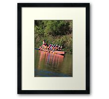 Paddling the Ord Marathon Framed Print