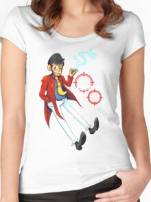 LUPIN III  Women's Fitted Scoop T-Shirt