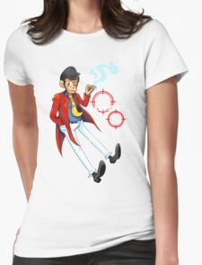 LUPIN III  Womens Fitted T-Shirt