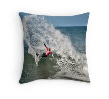 Kelly Slater Rip Curl Pro 2011 Throw Pillow