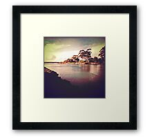Cam River, Tasmania Framed Print