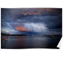 Batemans Bay At Dusk Poster