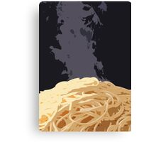 Spaghetti Time! Canvas Print