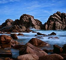 """""""Secluded Cove"""" by Heather Thorning"""