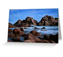 """""""Secluded Cove"""" Greeting Card"""