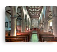 St Andrew Church - Dent,Cumbria Metal Print