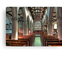 St Andrew Church - Dent,Cumbria Canvas Print