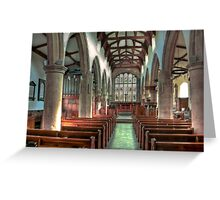 St Andrew Church - Dent,Cumbria Greeting Card