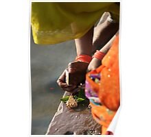 down by the ganges  Poster