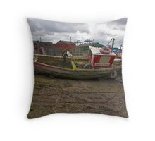 Sunrise at Paddy's Hole Throw Pillow