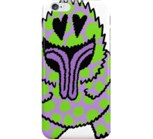 Freak Beast Lover Purple & Green iPhone Case/Skin