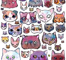 Feline Faces by miranema