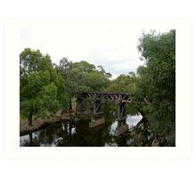 Rail Viaduct Art Print