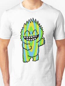 Happy Cutie Blue Green & Yellow T-Shirt