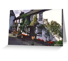 Hawkshead, Cumbria Greeting Card