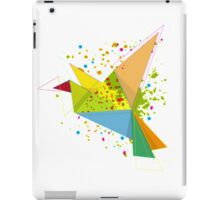 Paper bird paper plan  iPad Case/Skin
