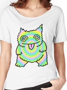 Mister Trippy Cat Women's Relaxed Fit T-Shirt
