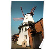 Marsh Mill Thornton England Poster