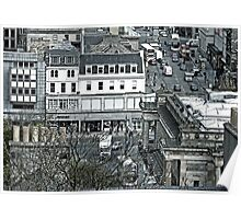 View Over Princes Street Poster