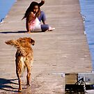 On the jetty by LadyFi