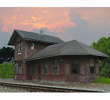 Old Midland City Station Photographic Print