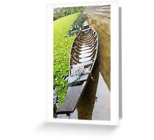 Wooden Ship, Wooden Boat Greeting Card