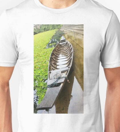 Wooden Ship, Wooden Boat Unisex T-Shirt