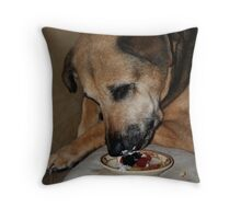 Shortcake Throw Pillow